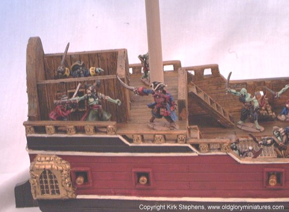 ghost pirate ship deck - photo #16